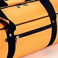 4代.70CM 外出輕便型娃袋(白色內裡)# 橙光 Orange