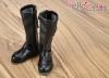 【TY01-1】Taeyang 極簡氣質.中筒靴 # Black