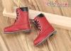 【TY04-4】Taeyang 綁帶雅緻簡約風.短靴 # Crimson