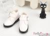 【TY5-3】Taeyang 簡潔風側扣踝鞋 # White