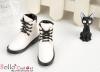 【TY6-2】Taeyang 綁帶簡約短靴 # White